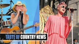 "Kenny Chesney, Pink Sing ""Setting the World On Fire"""
