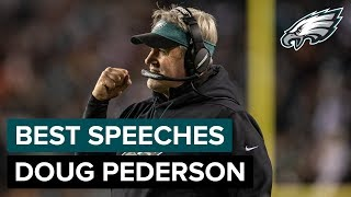Doug Pederson's Best Postgame Speeches in 2018 | Philadelphia Eagles