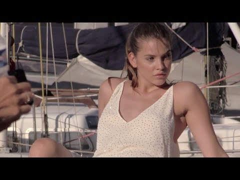 EXCLUSIVE - The stunning model Barbara Palvin in Saint Tropez