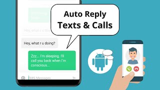 Auto-reply to Text Messages and Phone Calls on Android screenshot 1