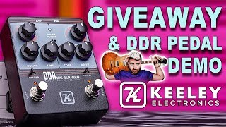 GIVEAWAY DDR Drive Delay Reverb Keeley Electronics Guitar Pedal - DEMO