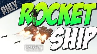 Crossout - Rocket Ship Missile Launcher (Crossout Gameplay)