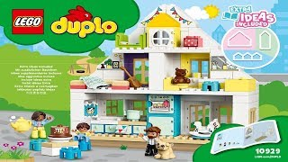LEGO instructions - DUPLO Town - 10929 - Modular Playhouse