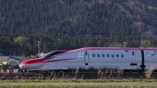 秋田新幹線 在来線走行 201904_a