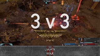 Dawn of War 2 - Faction Wars 2018 | Chaos Space Marines v Eldar
