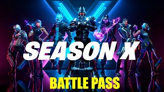 Fortnite Season 10 Tour | Battle Pass | Before School Stream