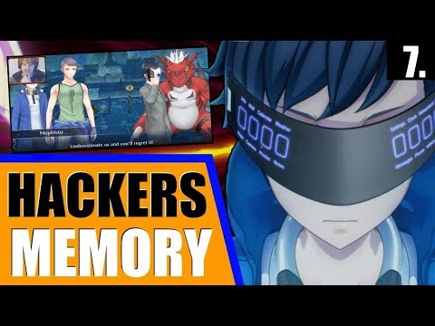 Cyber Sleuth - Hacker's Memory - Let's Play (Hard) - Ep. 7 - Growlmon Boss Fight in Kowloon!