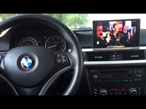 Bmw Screen Tablet Mount E90 Install Audio Upgrade Navigation
