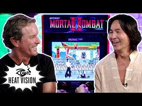 Звезды «Смертельной битвы» 1995 года показали свое умение играть в Mortal Kombat