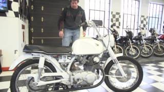 1961-68 Honda Super Hawk CB77 305