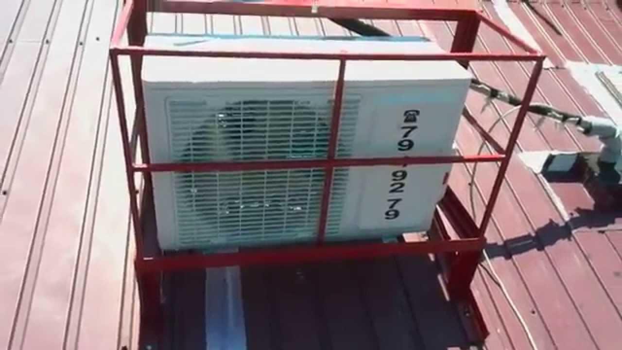 Установка кондиционера на крыше продажа кондиционеров и установка кондиционеров