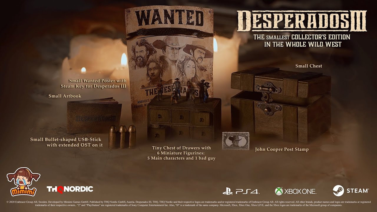 Desperados Iii The Smallest Collector S Edition In The Whole Wild West Youtube