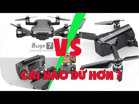 Фото LKRC - So Sánh Flycam MJX Bugs 7 và SJRC F11 Con Nào Dữ Hơn?