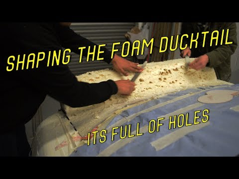 How to Make an Expanding Foam Ducktail Spoiler/Wing on My S13 *PART 2*