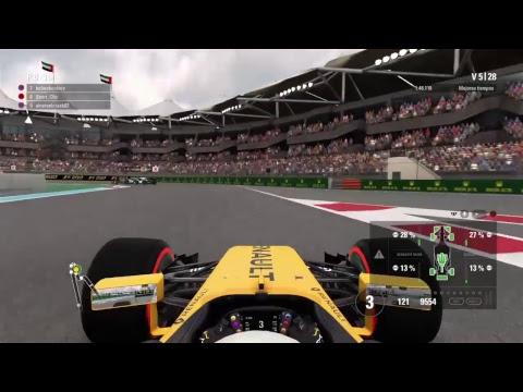 F1 2017 Online GP de Abu Dubai #8 l SGF2