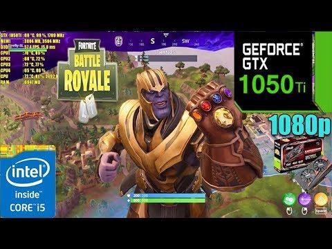 Fortnite Infinity Gauntlet Game Mode Gtx 1050ti 4gb