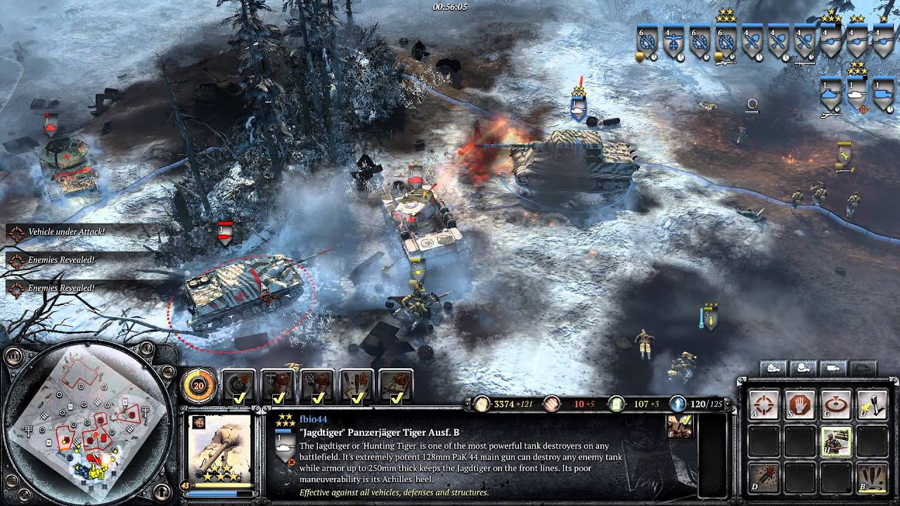 Company Of Heroes 2 Jagdtiger Youtube