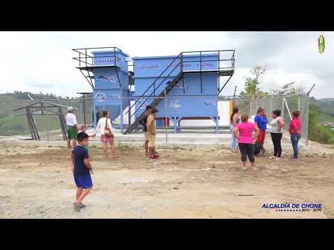 Chibunga contará con planta potabilizadora de agua