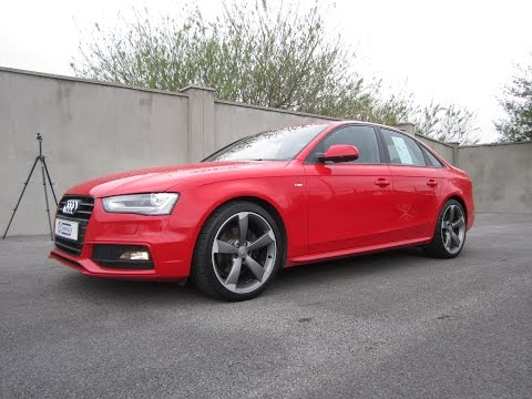 Review: 2012 Audi A4 S-Line Black Edition
