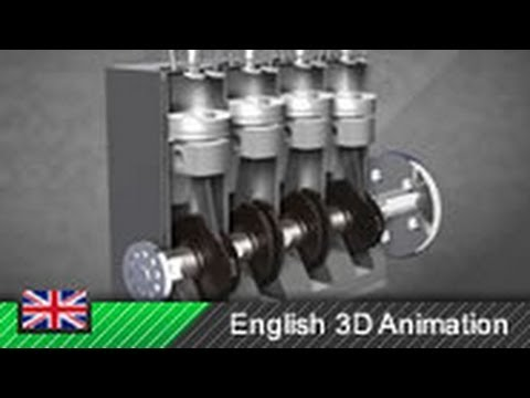 How Diesel Engines Work! (Animation) - YouTube