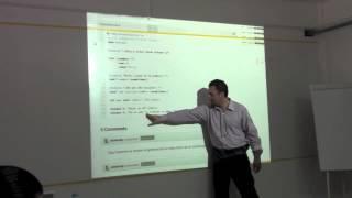 Programación funcional con @Alcidesfp en el #CodeRetreat