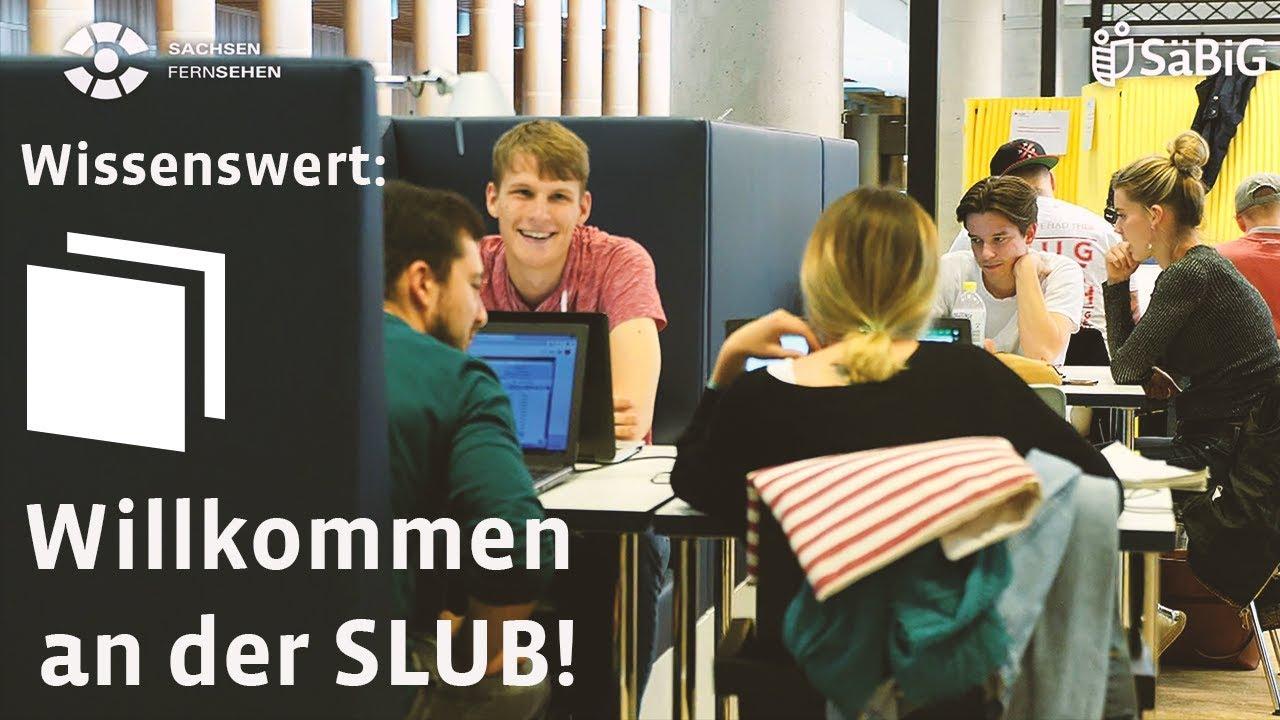Die SLUB stellt sich vor