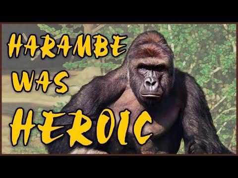 Harambe was Heroic - RIP