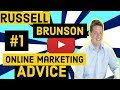 Russell Brunson's #1  Most Valuable Advice for