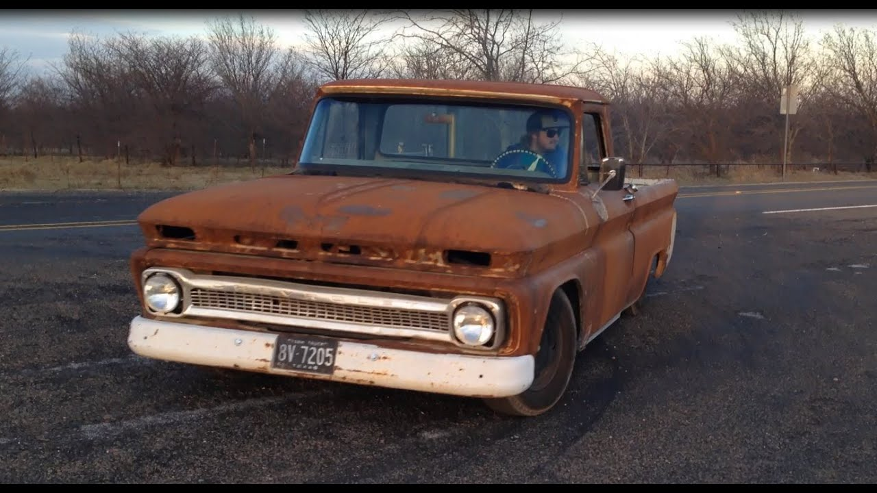 Best Diesel Engine Truck >> 1964 Chevy C10 Hercules Diesel swap like a Cummins 4BT - YouTube