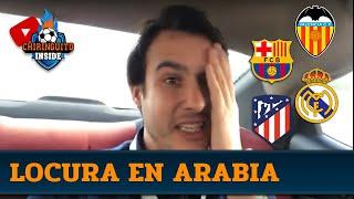 El VIAJE más FRENÉTICO de JUANFE en Arabia Saudí | Supercopa