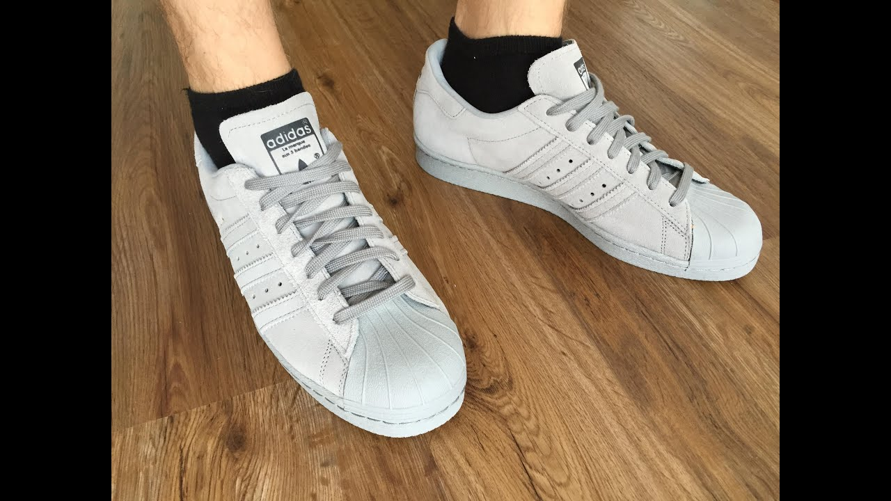 Adidas Superstar 80s On Feet