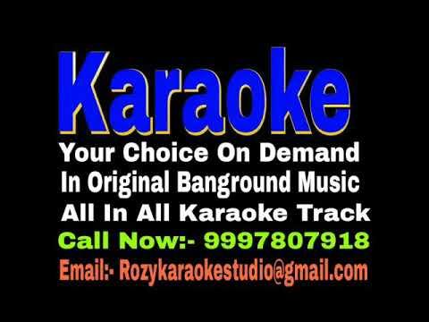 Wo Bewafa Bewafa Bewafa Thi Karaoke - Agam Kumar Nigam Track
