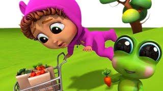 Runaway Veggies! | Learn Colors | Educational