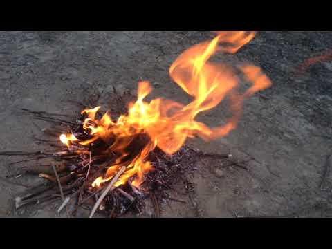 Bad fire b-roll
