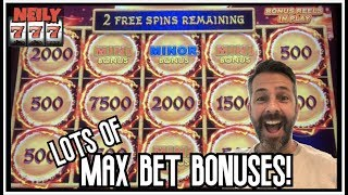 THE LIGHTNING LINK SLOT GODS BLESSED ME WITH SOME MAX BET BONUSES!