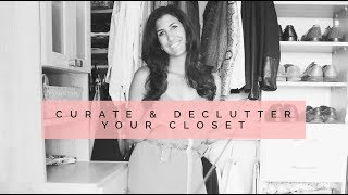 Tips to Declutter & Minimize Your Closet | Minimalism & Decluttering | Slow Fashion