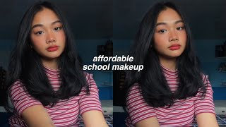 affordable back to school makeup look (drugstore)