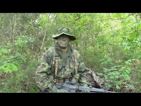 Erdl Green Dominant Camouflage Effectiveness Youtube