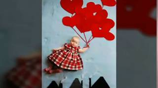 Creative baby photography ideas at home