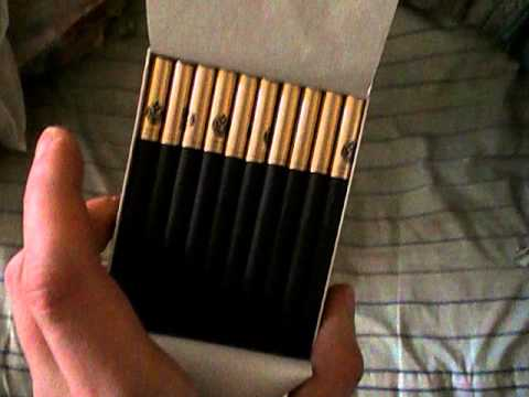 Sobranie Black Russian Cigarette Review - YouTube