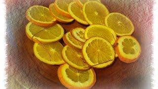 Fette di arancia decorative essiccate