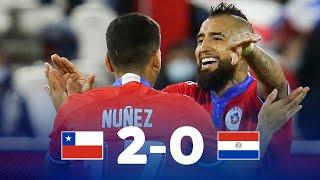 Чили  2-0  Парагвай видео
