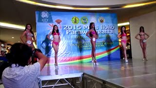 Miss Iloilo suimsuit competition 2015 Paraw Regatta in Iloilo City, Philippines