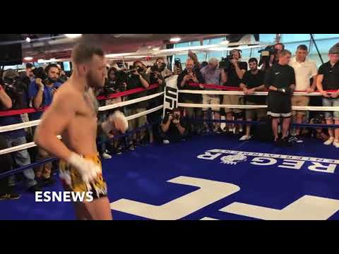Conor McGregor Switch Hitter Look At The Footwork EsNews Boxing