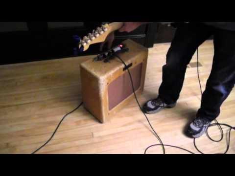 1951 tweed deluxe fender tube guitar amplifier jensen 5B3