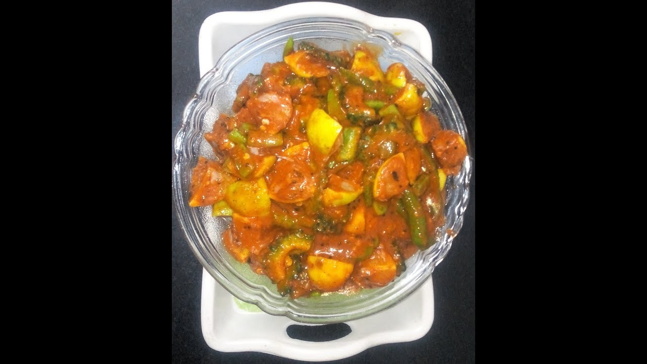 Mixed Vegetable Pickle By Mallamma Ajji