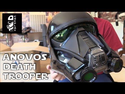 Anovos Death Trooper Helmet Unboxing (Rogue One)