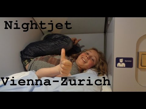 Nightjet from Vienna to Zurich (Great Train Trip Pt5) - CAMT039