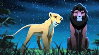 The Lion King 2 - Kovu And Kiara Looking At The Stars (Finnish) [Full HD]