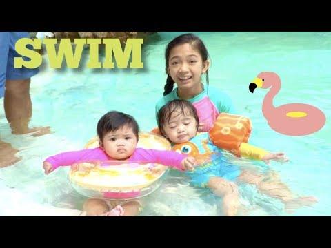 Travis Swimming